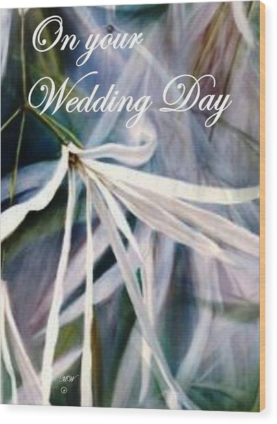 Wedding Flower Wood Print