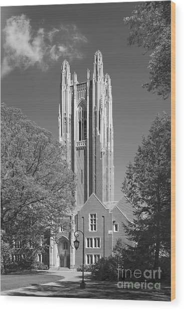 Wellesley College Green Hall Wood Print