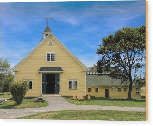 Wells Reserve Barn Wood Print