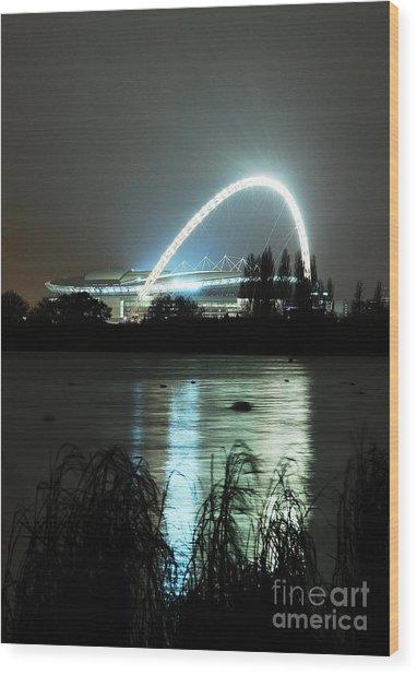 Wembley London Wood Print