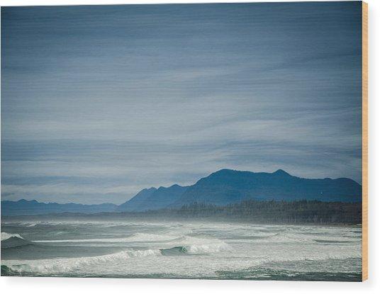 West Coast Exposure  Wood Print
