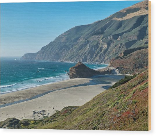 West Coast Serenity Wood Print