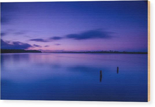 West Loch Sunrise Wood Print