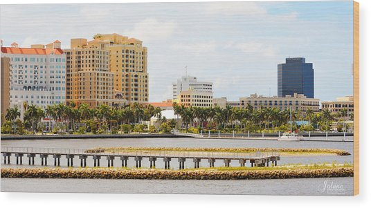 West Palm Beach Wood Print