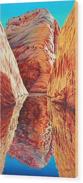 West Passage Wood Print