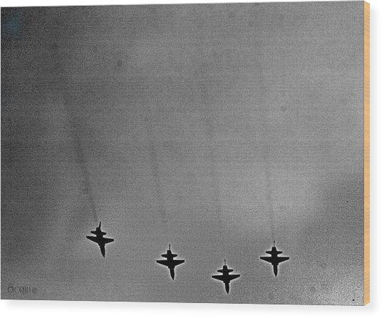West Point Jets Wood Print