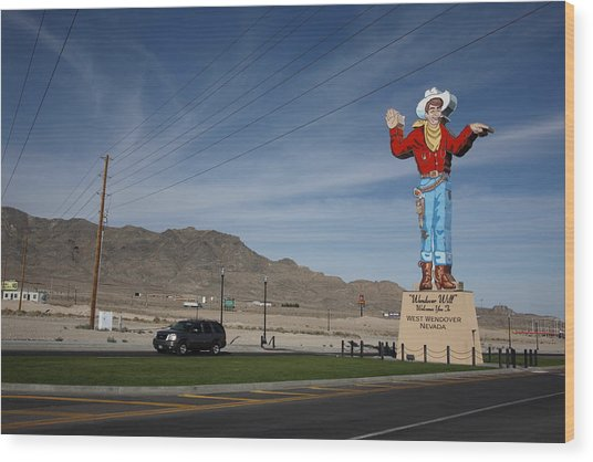 West Wendover Nevada Wood Print
