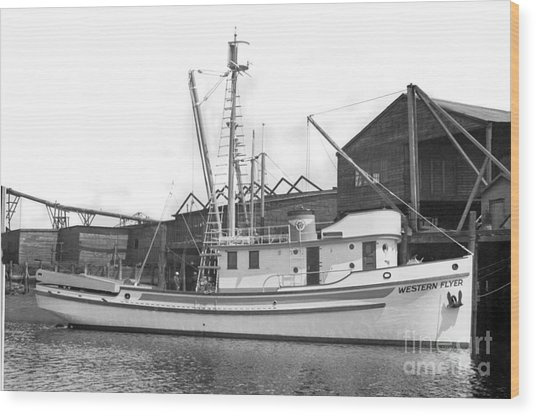 Western Flyer Purse Seiner Tacoma Washington State March 1937 Wood Print