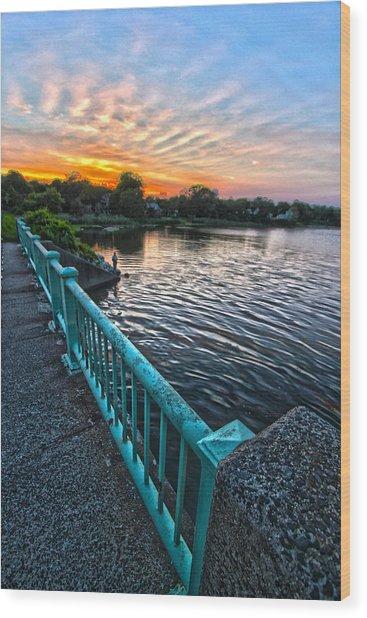Westhampton-quogue Bridge Wood Print