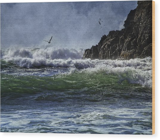 Whales Head Beach Southern Oregon Coast Wood Print
