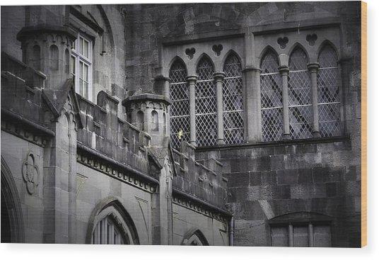 What Light In Yonder Window Wood Print