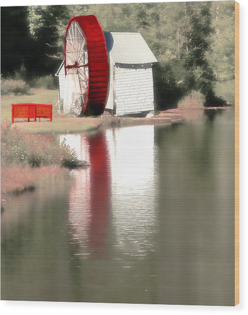 Wheel House Wood Print