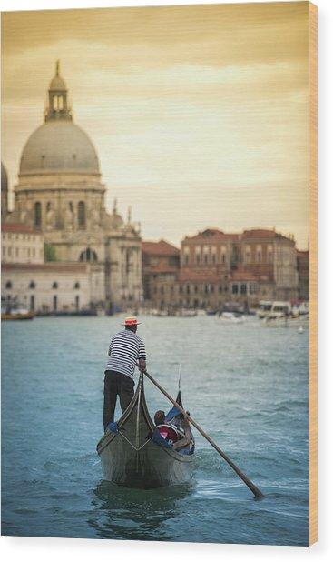 When In Venice... | Venezia Explore Wood Print