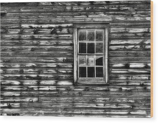When Times Were Simpler Wood Print