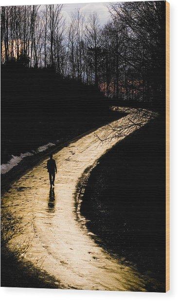 Where Wood Print by Mehmet Dag