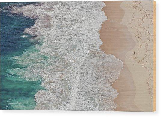 Where The Ocean Ends... Wood Print