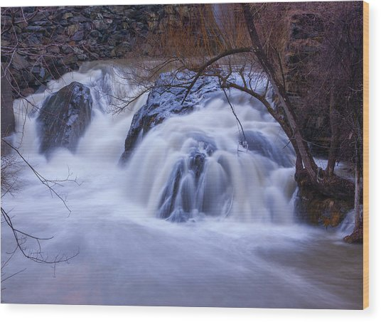 Whetstone Roaring Wood Print