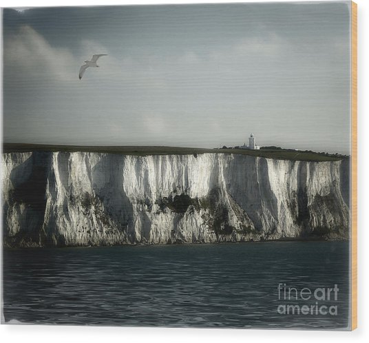 White Cliffs Of Dover Wood Print