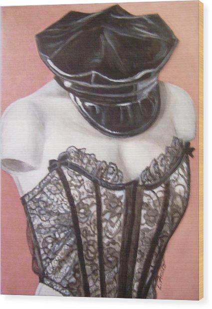 White Shoulders Wood Print