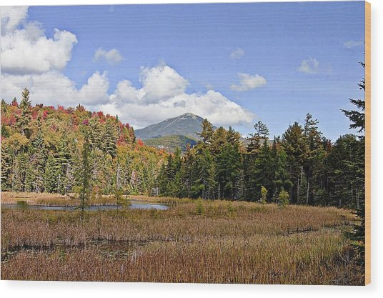 Whiteface Mountain Wood Print
