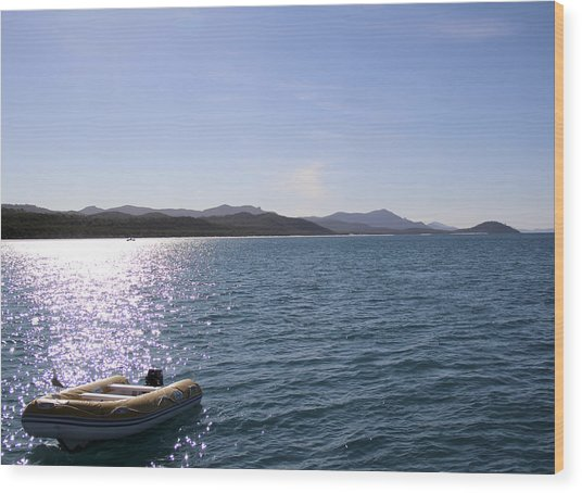 Whitsunday Island Wood Print