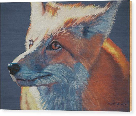 Wilbur Fox Wood Print