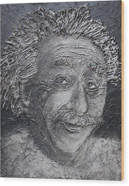 Wilder Einstein Wood Print