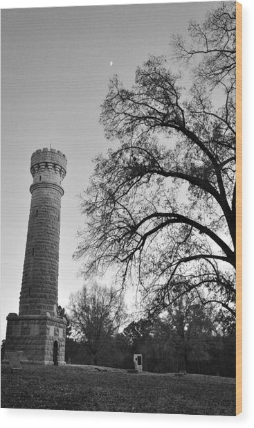 Wilder Tower 6 Wood Print
