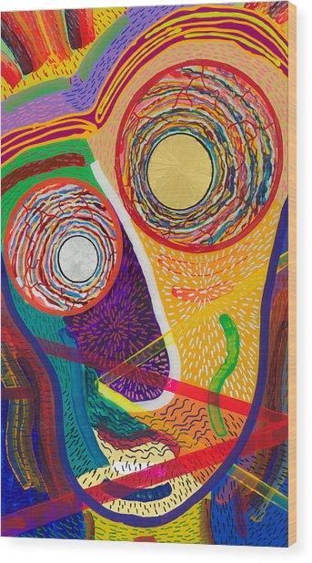 Wilfrieda Wood Print by Patrick OLeary