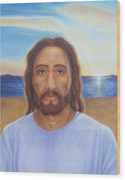 Will You Follow Me - Jesus Wood Print