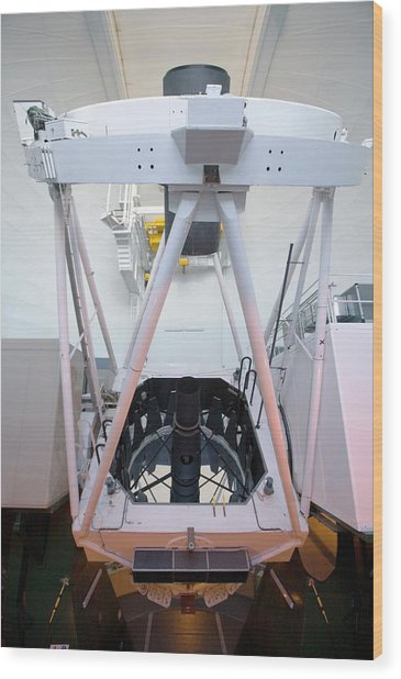 William Herschel Telescope Wood Print by Adam Hart-davis/science Photo Library