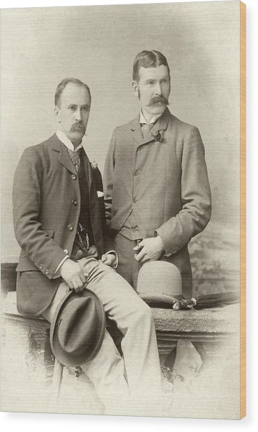 William Osler And Ramsay Wright Wood Print