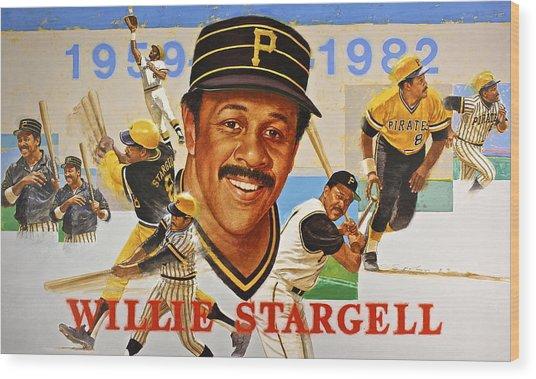 Willie Stargell Wood Print