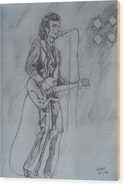 Willy Deville - Steady Drivin' Man Wood Print