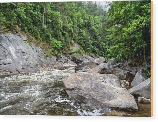 Wilson Creek Wood Print by Bob Jackson