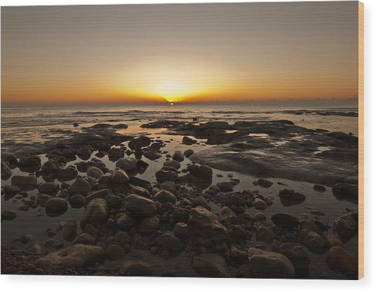 Winchelsea Sunrise Wood Print