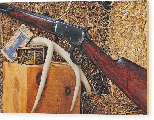 Winchester Model 92 Wood Print