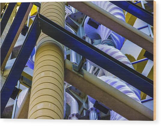 Wind Abstract No.1 Wood Print