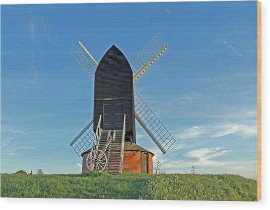 Windmill At Brill Wood Print