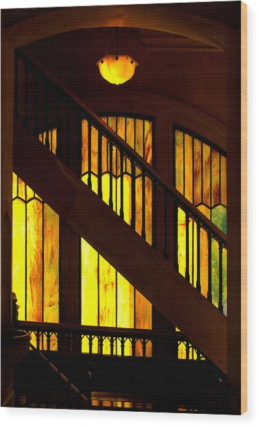 Window Art Wood Print by Dale Stillman