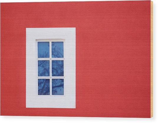 Window Piece Wood Print