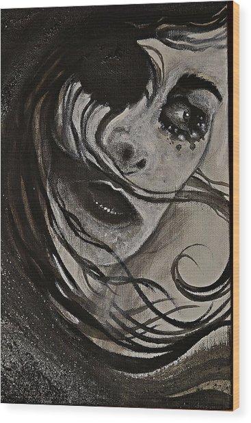 Windyblack Wood Print