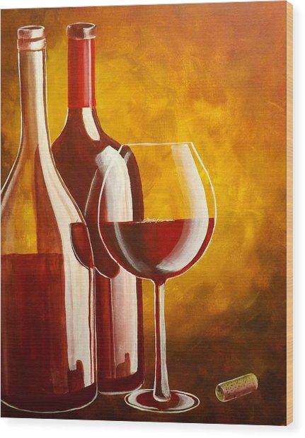 Wine Not Wood Print