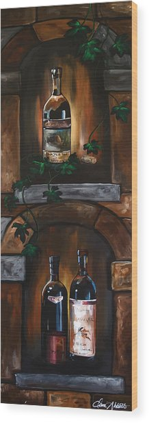 I Need A Glass Of Wine Wood Print