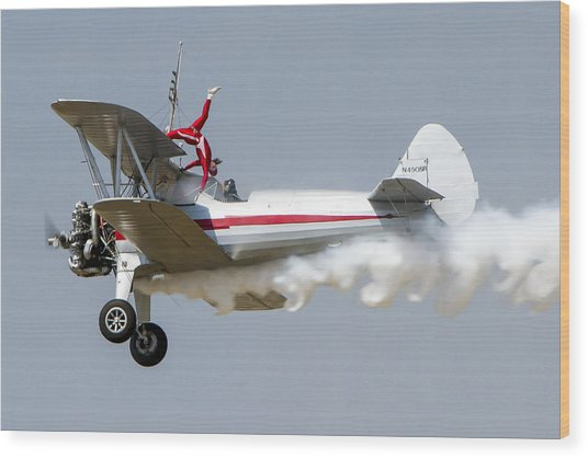Wing Walker 2 Wood Print