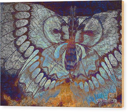 Wings Of Destiny Wood Print