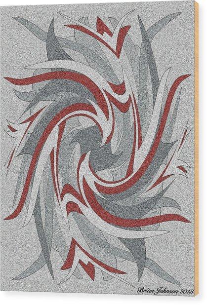 Wings Tile 3 Wood Print