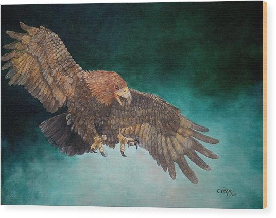 Wingspan Wood Print
