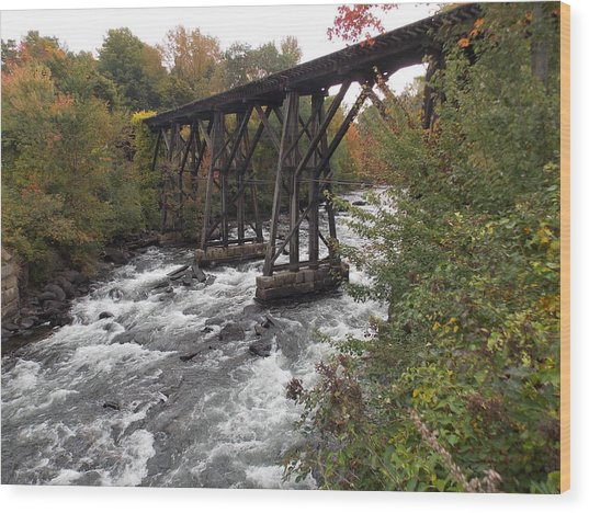 Winnipesaukee River Wood Print