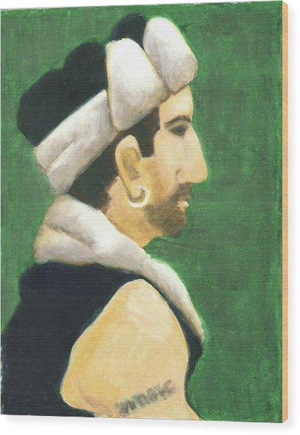 Winter Hat Wood Print